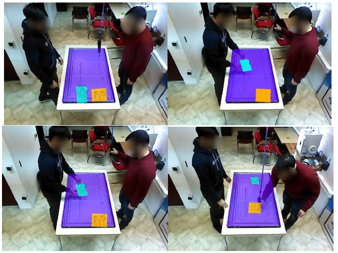 visual demonstration